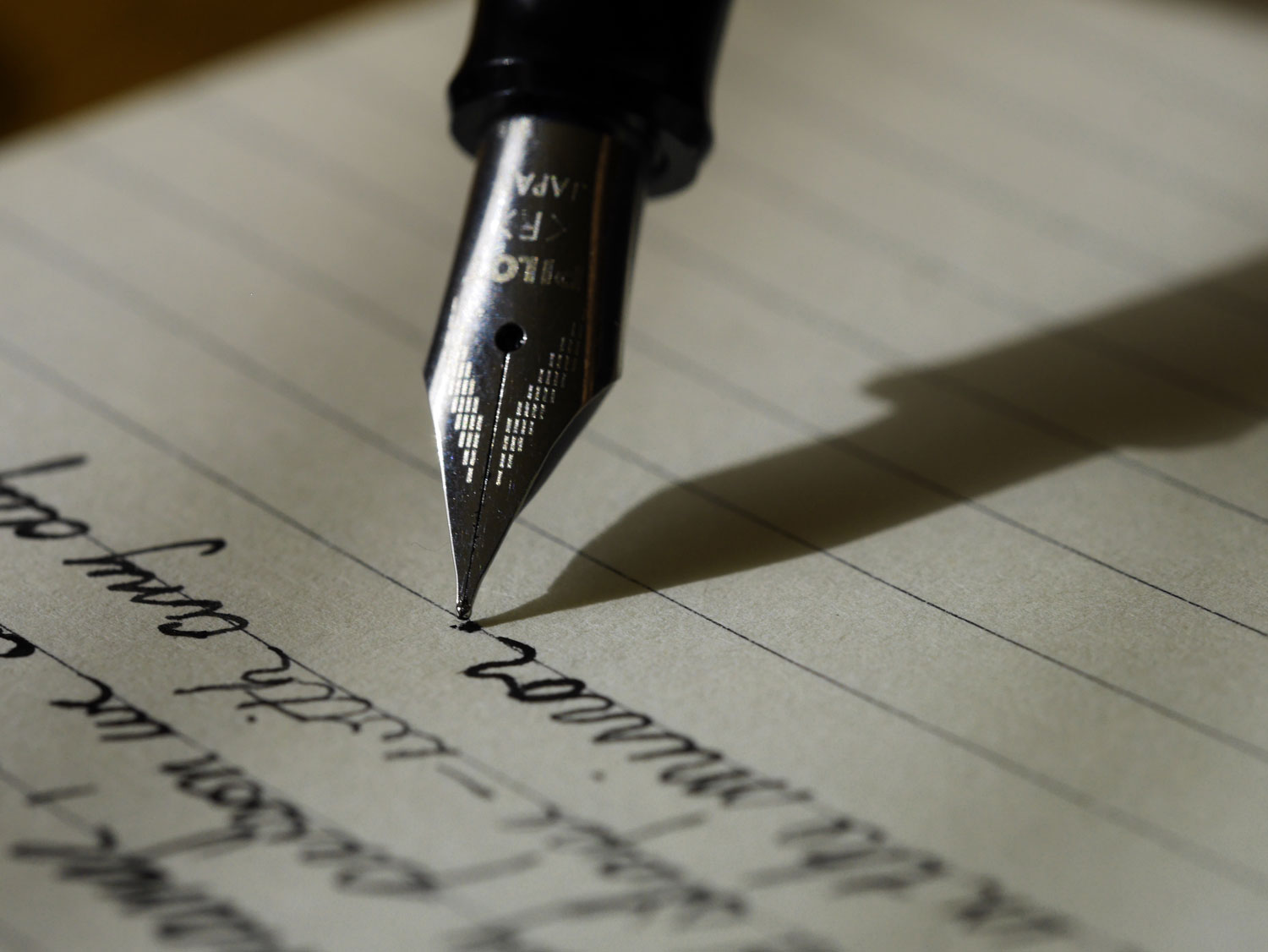 """A note from Mom 
